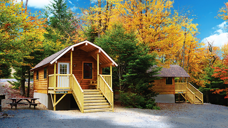 Old forge camping resort for Camp sites with cabins