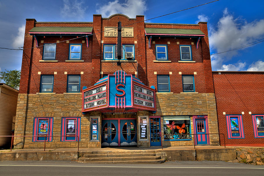 The Strand Theatre In Old Forge New York